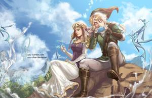 Legend of Zelda by Azu-Chan