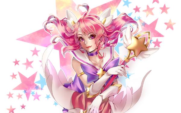 Star Guardian lux (cosmetic bag desgin) by Azu-Chan