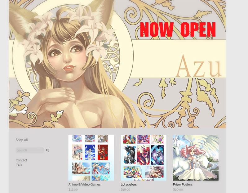 Online shop Now Open  :3 by Azu-Chan