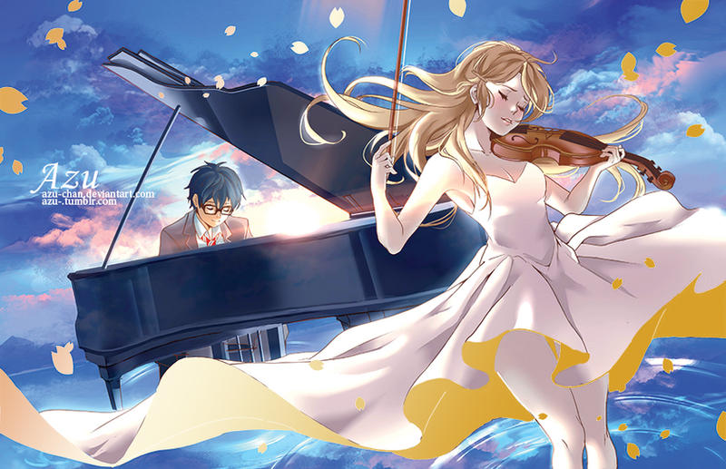 Your Lie In April By Azu Chan