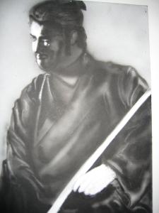 Samurai by georgepthibaultjr