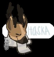 Itaska Head Sketch by Arooooo