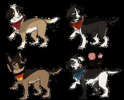 Dog Adopts {closed} by Arooooo