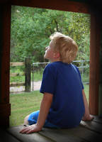 Thoughtful Boy by LeeAnneKortus