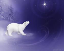 Snowy Polar Dreams by LeeAnneKortus