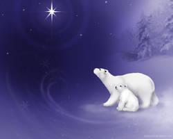 Snowy Polar dreams v. 2 by LeeAnneKortus
