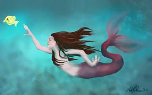 Fiona the mermaid by LeeAnneKortus