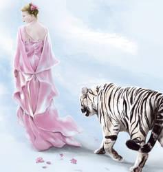 Tigers of Spring by LeeAnneKortus