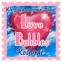 Love Bubble Stamp