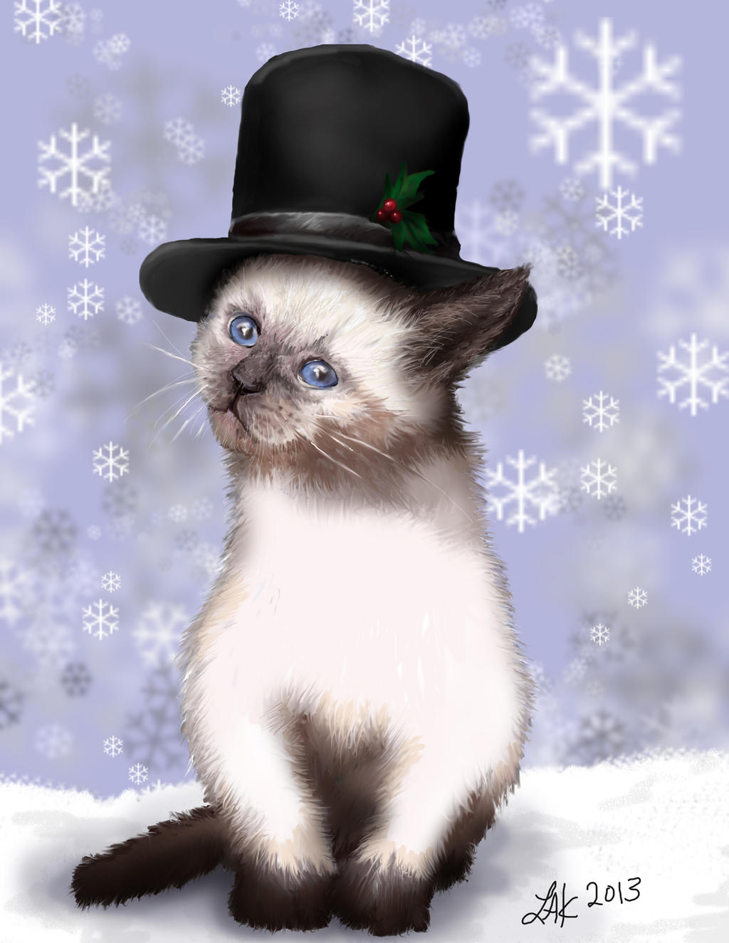 Merry Christmas 2012 by LeeAnneKortus