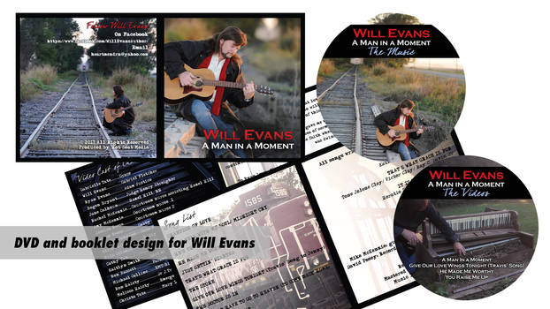 DVD Cover, Booklet, and DVD Labels