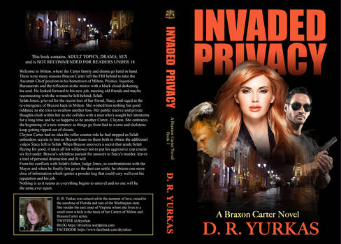 Book Cover - Invaded Privacy by Dawn Yurkas
