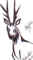 Ugly Deer by TreDanya