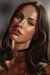 Megan Fox  by vynjard