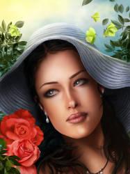 Summer girl by vynjard