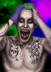 Suicide Squad Joker by vynjard