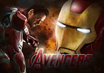 Iron Man 1 by vynjard