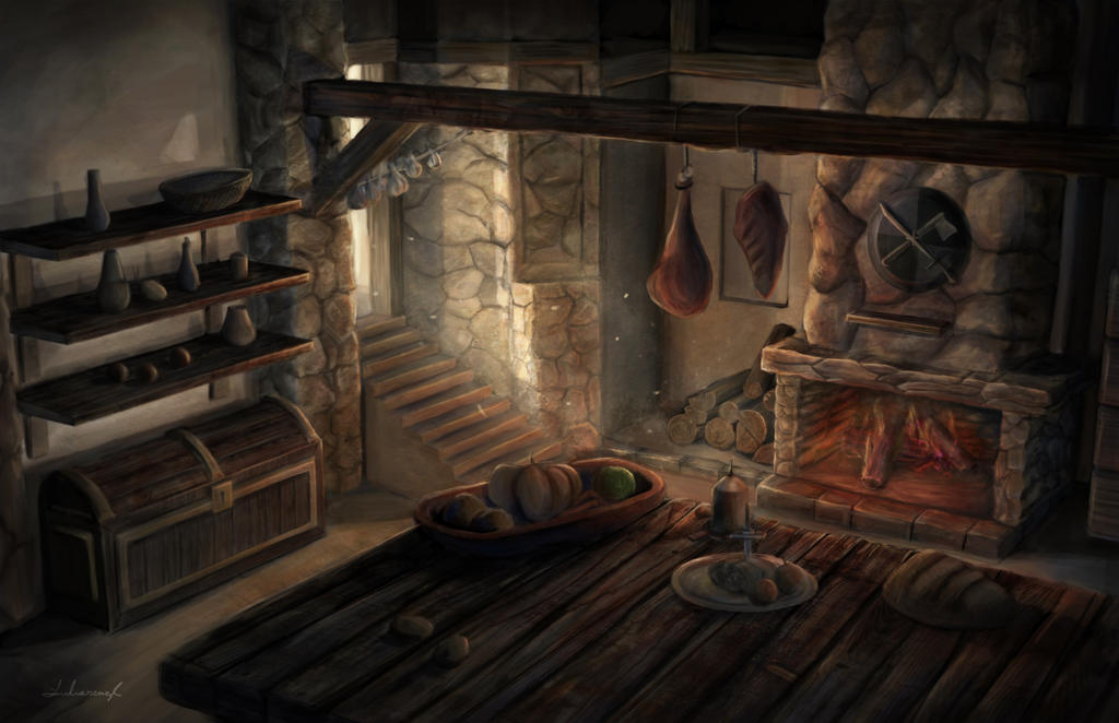 medieval_kitchen_by_admaioremdeiglori-d5