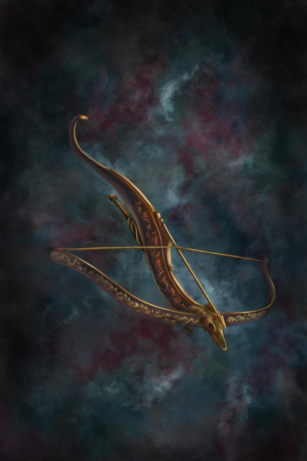 Magic Crossbow by lukkar
