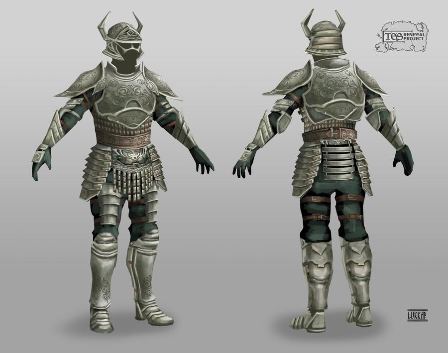 Adamantium armor by lukkar