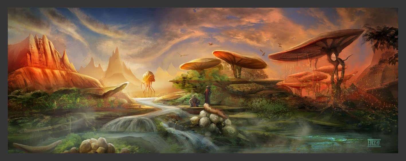 Morrowind Landschaft