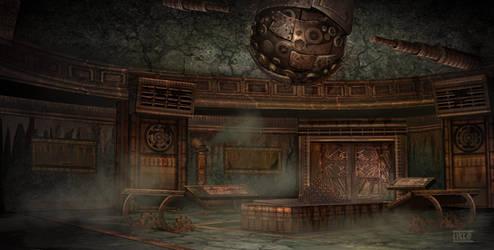 Dumac palace (Dagoth Ur) - tactic room