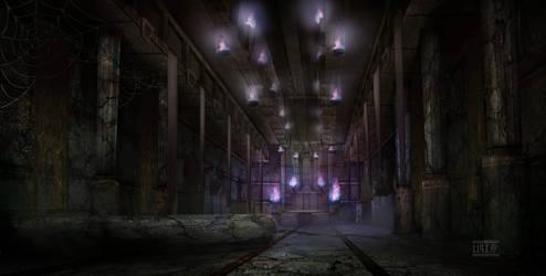 Dumac palace (Dagoth Ur) - Throne chamber corridor