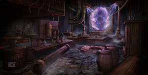 Dumac palace (Dagoth Ur) - Kagrenac Lab