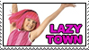 Lazy Town Stamp by giadrosich