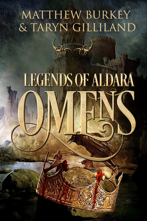 Book Cover Fantasy ~ Legends of aldara omens book cover by bookcoverdesigner