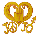Transparent Josuke Back-of-Jacket Thingy