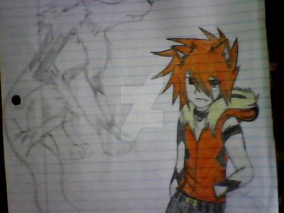 arcanine hot boy by UbiOokami23