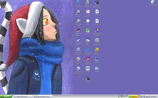 Snow Desktop