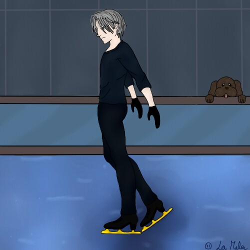 Viktor Yuri on ice by KuroNeko9696