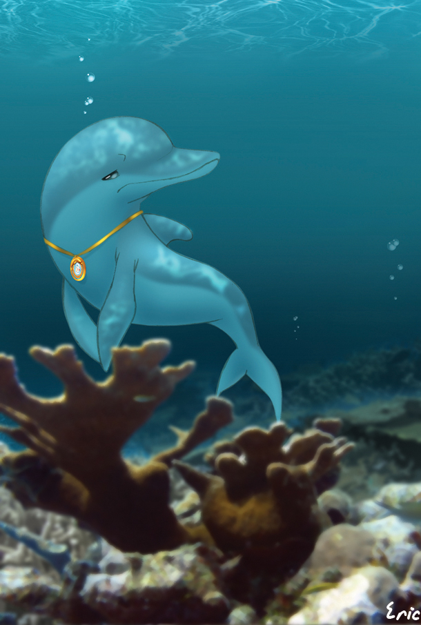 dolphin triste by Ericorion