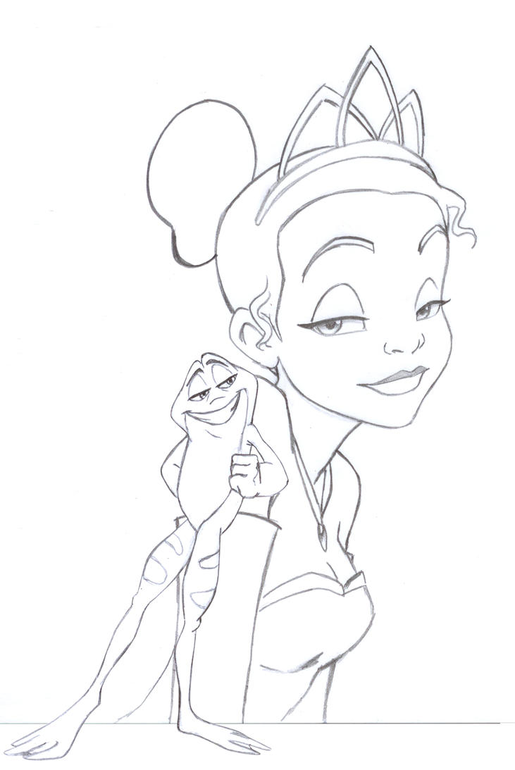 Princess Tiana Frog Hot Girls Wallpaper Princess And The Frog Drawing