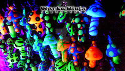 Magic mushrooms pendants under uv light by wackoninja on deviantart magic mushrooms pendants under uv light by wackoninja mozeypictures Gallery
