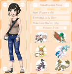 Pokemon Sun OC: Luana Paoa by TacticianXenia
