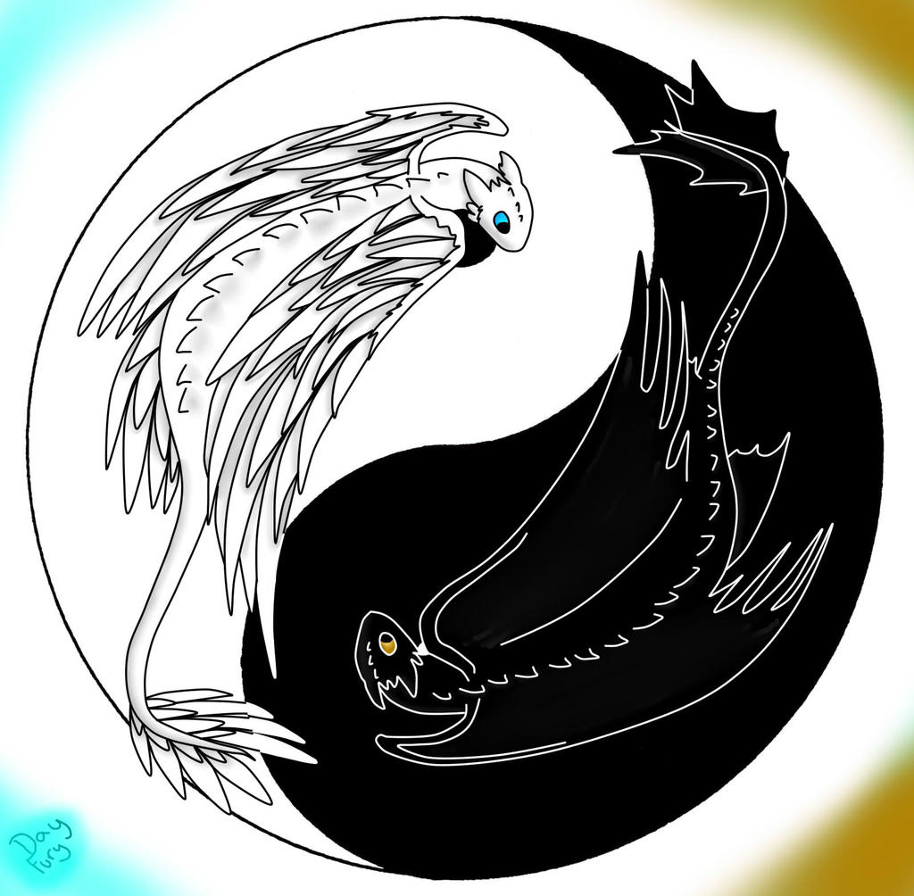 The Ying Yang Dragons... by Day-Fury on DeviantArt