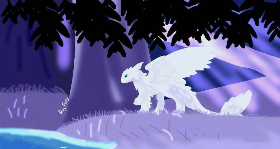 Day Fury And The Purple Forest By Day Fury On Deviantart