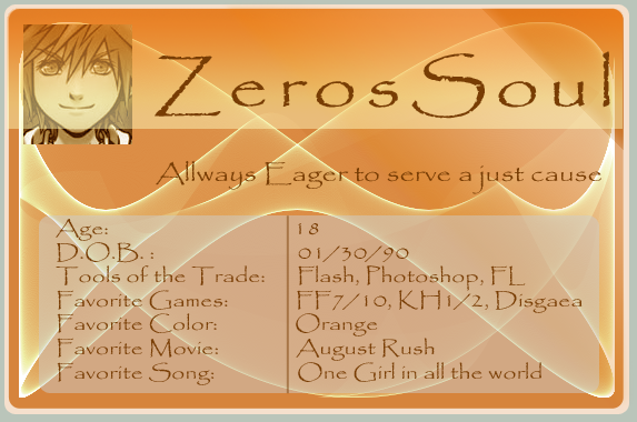 Zerossoul's Profile Picture