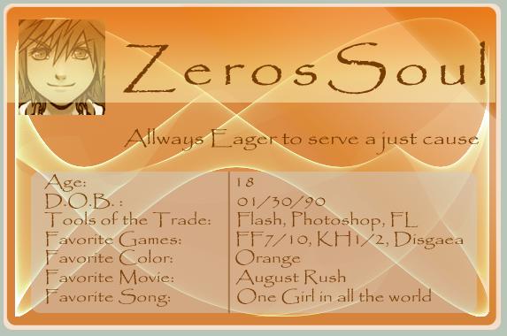 Zerossoul's Profile Picture