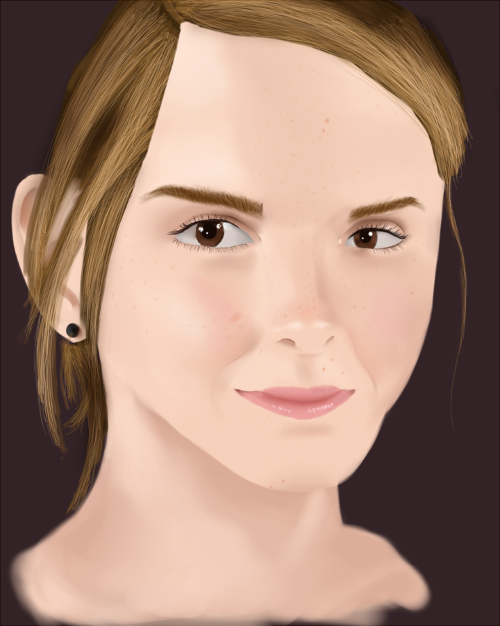 Emma Watson Portrait by Zerossoul