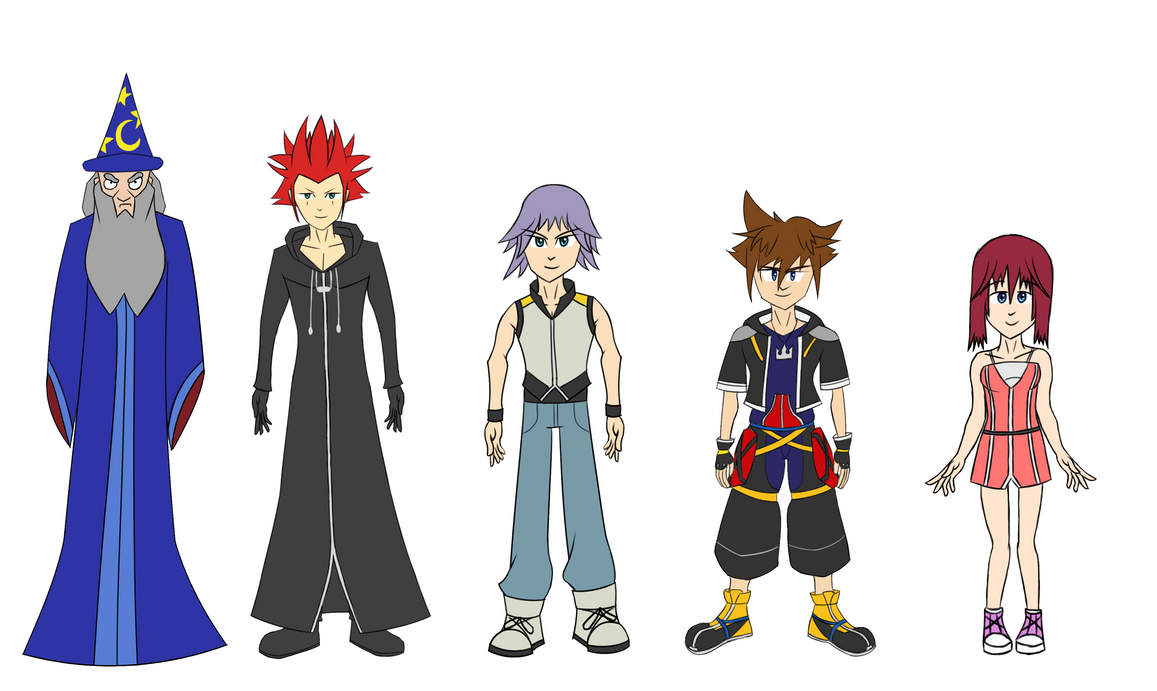 All Characers Concept by Zerossoul