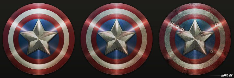 Escudo Capitan America 4 by KOPOFX on DeviantArt