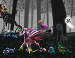 PKMNation: Searching the Dark Woods