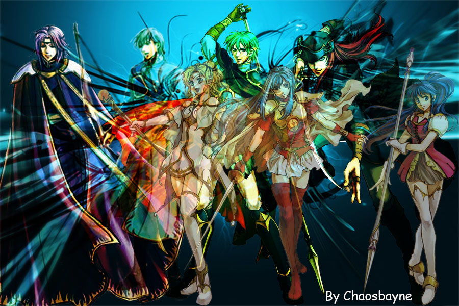 Fire Emblem Sacred Stones Wallpaper Fire Emblem Sacred Stones by