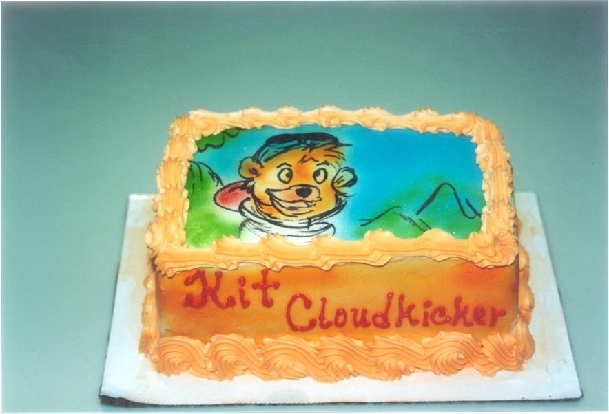 Cake Art Kit : Kit Cloudkicker birthday cake by chrisno51 on deviantART