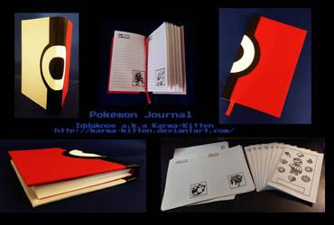 Pokemon Journal by Karma-Kitten
