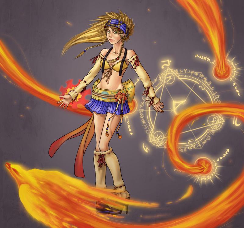 Rikku Fast Caster by Ethanael